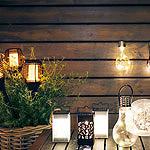 Baštenske solarne lampe